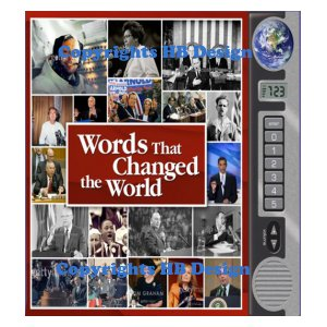 Words That Changed the World. Interactive Sound Book