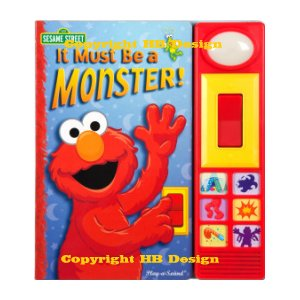 Sesame Street : It Must Be a Monster! Play-a-Sound Storybook