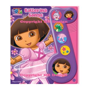 Dora the Explorer : Ballerina Songs. Little Music Note Play-a-Song