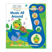 Load image into Gallery viewer, Baby Einstein : Music All Around. Little Music Note Play-a-Sound