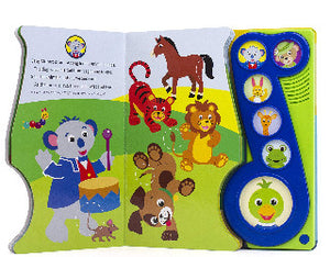 Baby Einstein : Music All Around. Little Music Note Play-a-Sound. Inside
