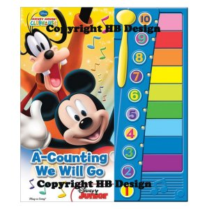 Mickey Mouse Clubhouse: A Counting We Will Go