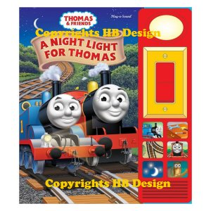 Thomas and Friends: A Night Light for Thomas. Play-a-Sound Storybook