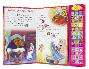 Disney Princess Sound Storybook Treasury Inside