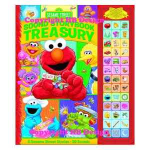 Sesame Street: Sound Storybook Treasury