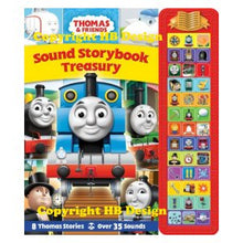 Load image into Gallery viewer, Thomas & Friends:  Sound Storybook Treasury