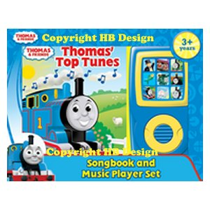 Thomas & Friends: Thomas' Top Tunes. Songbook and Music Player Mini Gift Set