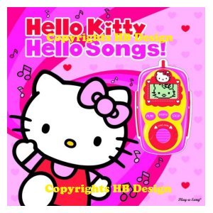 Hello Kitty: Hello Songs! Digital Music Player