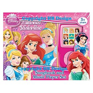 Disney Princess: Princess Melodies. Songbook and Music Player Mini Gift Set