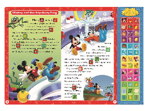 Disney Junior: Sound Storybook Treasury Inside