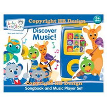 Load image into Gallery viewer, Baby Einstein: Discover Music! Songbook and Music Player Mini Gift Set