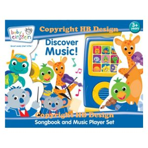Baby Einstein: Discover Music! Songbook and Music Player Mini Gift Set