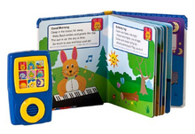 Load image into Gallery viewer, Baby Einstein: Discover Music! Songbook and Music Player Mini Gift Set. Inside