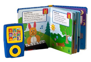 Baby Einstein: Discover Music! Songbook and Music Player Mini Gift Set. Inside