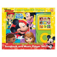 Load image into Gallery viewer, Disney Jr. : Let's Sing! Songbook and Music Player Mini Gift Set