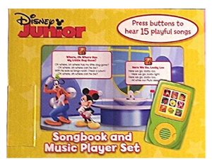Disney Jr. : Let's Sing! Songbook and Music Player Mini Gift Set Inside