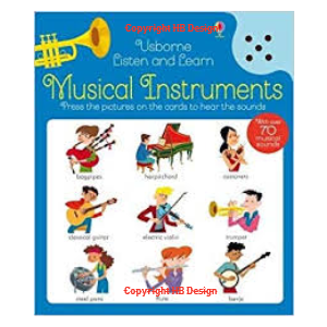 Listen and Learn: Musical Instruments. Sound Cards