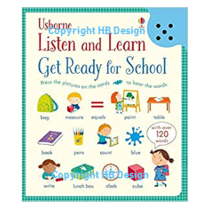 Listen and Learn: Get Ready for School. Sound Cards