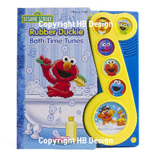 Load image into Gallery viewer, Sesame Street: Rubber Duckie Bath Time Tunes. Play-a-Song