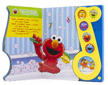 Load image into Gallery viewer, Sesame Street: Rubber Duckie Bath Time Tunes. Play-a-Song Book Inside