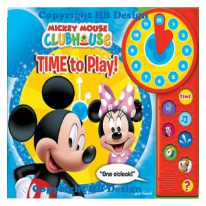 Mickey Mouse Clubhouse: Time to Play! Play-a-Sound Storybook