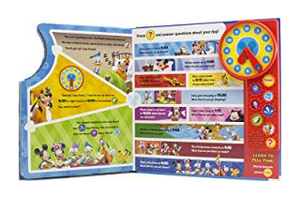 Mickey Mouse Clubhouse: Time to Play! Play-a-Sound Storybook Inside