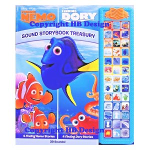 Disney PIXAR Finding Nemo/Finding Dory : Sound Storybook Treasury