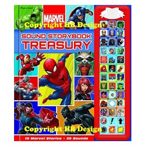 Marvel Superhero Sound Storybook Treasury