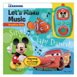 Disney Learning: Let's Make Music Sing! Clap! Dance!
