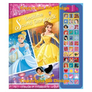 Disney Princess: Bedtime Sound Storybook