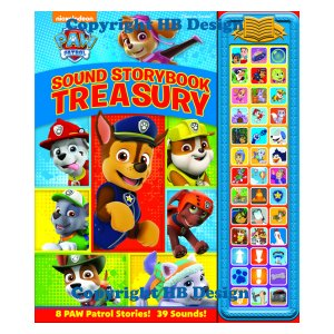 Paw Patrol Sound Storybook Treasury
