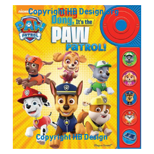 Paw Patrol: Ding Dong, It's the PAW Patrol! Little Door Bell Sound Book