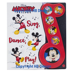 Mickey & Friends: Sing, Dance, Play! Little Music Note Play-a-Sound