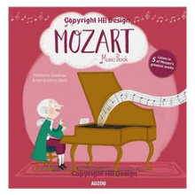 Load image into Gallery viewer, My Amazing Mozart Music Book. Interactive Play-a-Sound