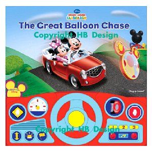 Mickey Mouse Clubhouse : The Great Balloon Chase. Steering Wheel Play-a-Sound Storybook