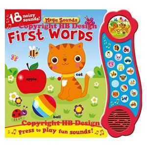 Mega Sounds: First Words Interactive Sound Book