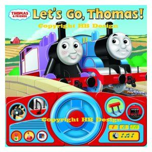 Thomas & Friends : Let's Go, Thomas. Steering Wheel Play-a-Sound Storybook