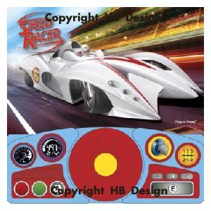 Speed Racer Steering Wheel Play-a-Sound Storybook