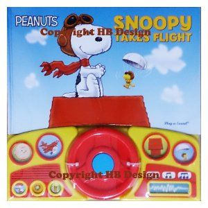 Peanuts: Snoopy Takes Flight Steering Wheel Play-a-Sound Storybook