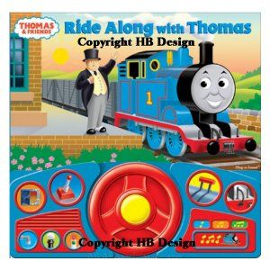 Thomas & Friends : Ride Along With Thomas Steering Wheel Play-a-Sound Storybook
