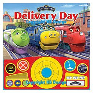 Chuggington : Delivery Day Steering Wheel Play-a-Sound Storybook