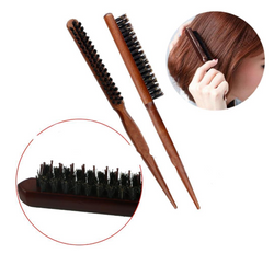 Wood Handle Natural Fluffy Comb