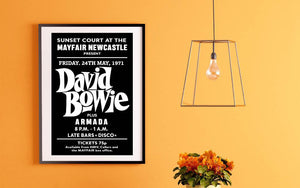 David Bowie Mayfair Newcastle Armada
