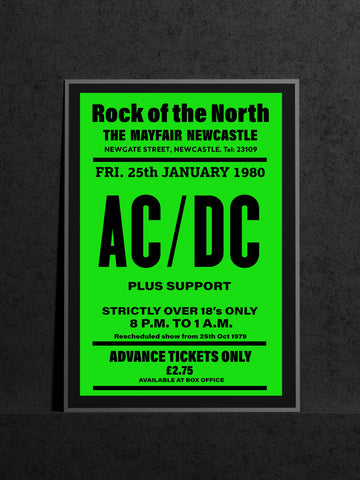 AC/DC - Newcastle Mayfair - 1980