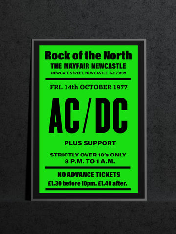 AC/DC Newcastle Mayfair