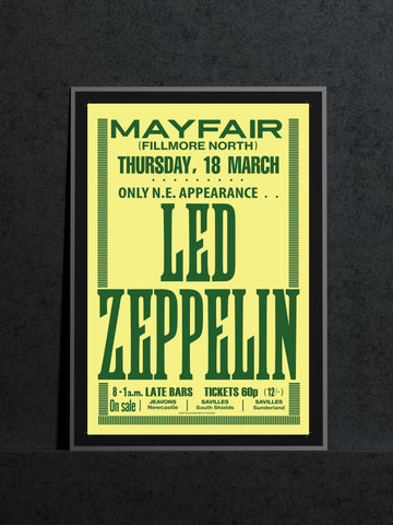 Led Zeppelin - Newcastle Mayfair - 1971
