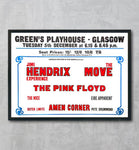 Jimi Hendrix - Green's Playhouse - Glasgow - 1967