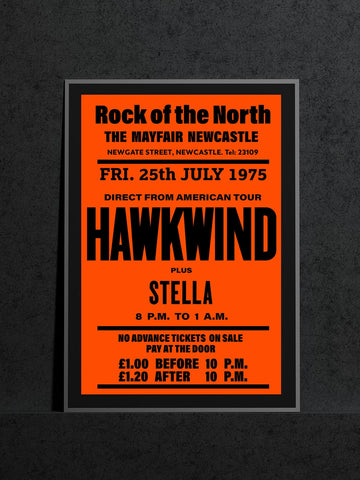 Hawkwind - Newcastle Mayfair - 1975