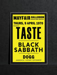Taste - Newcastle Mayfair - 1970