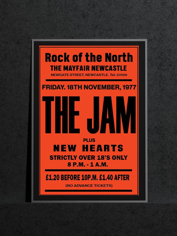 The Jam - Newcastle Mayfair - Nov 1977